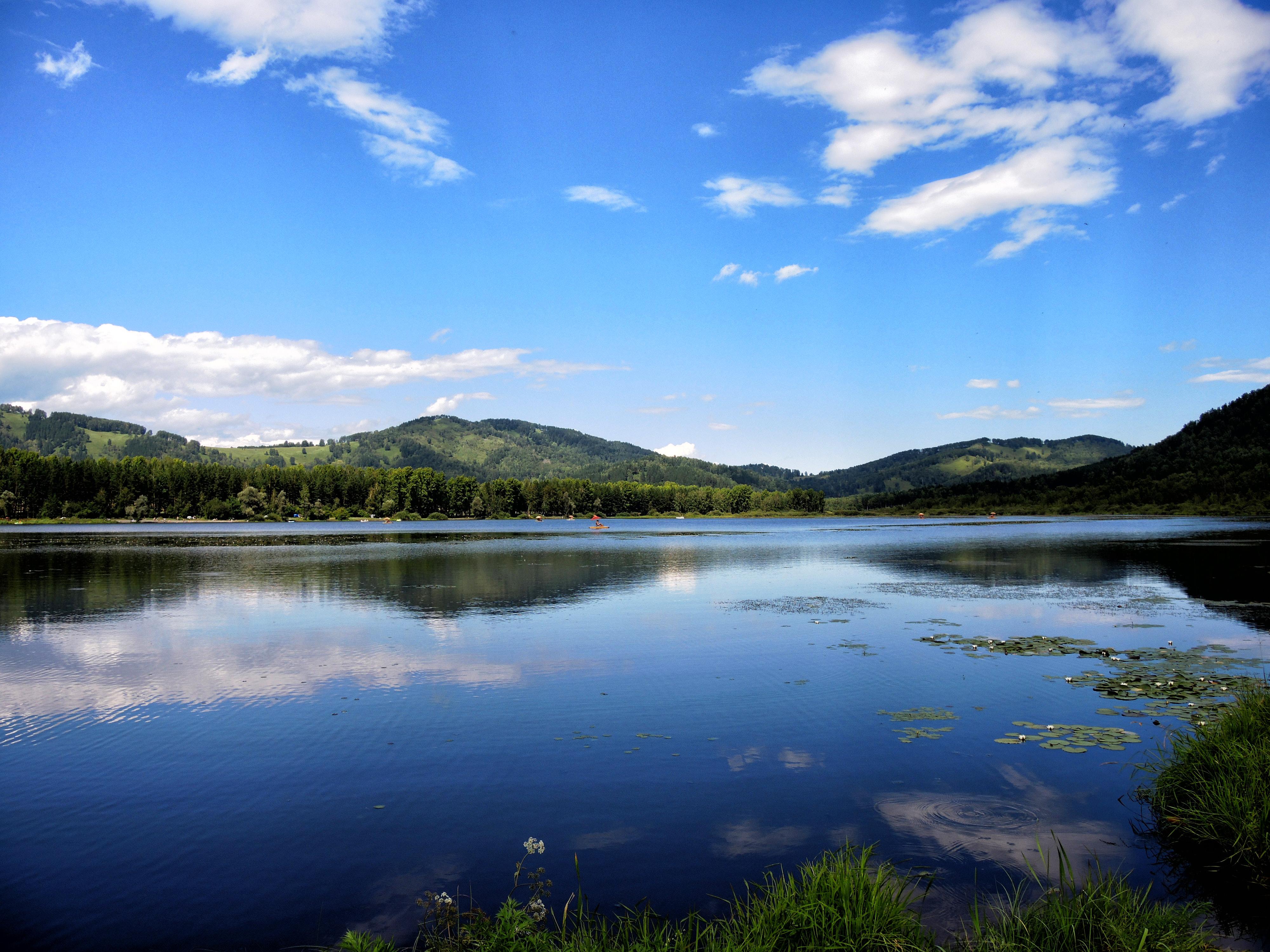 полностью озеро манжерок алтай фото возведенное