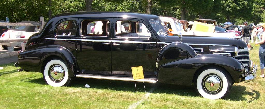 File 1940 Cadillac Series 75 Profile Jpg Wikimedia Commons