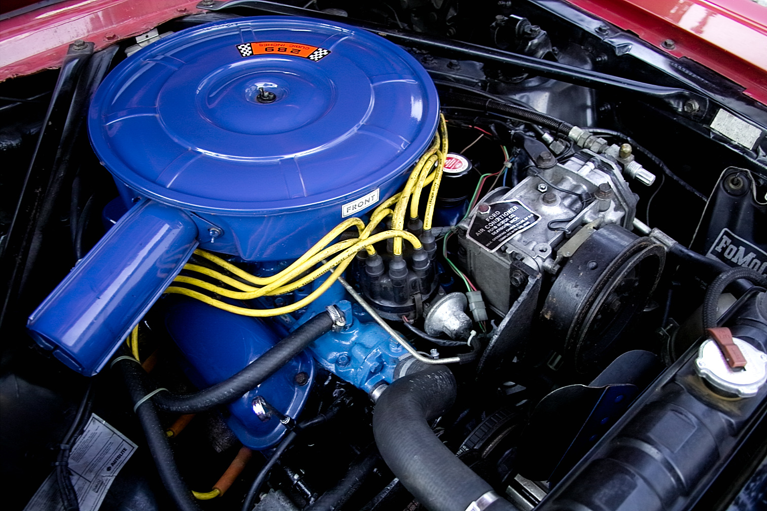 file 1966 ford mustang engine jpg