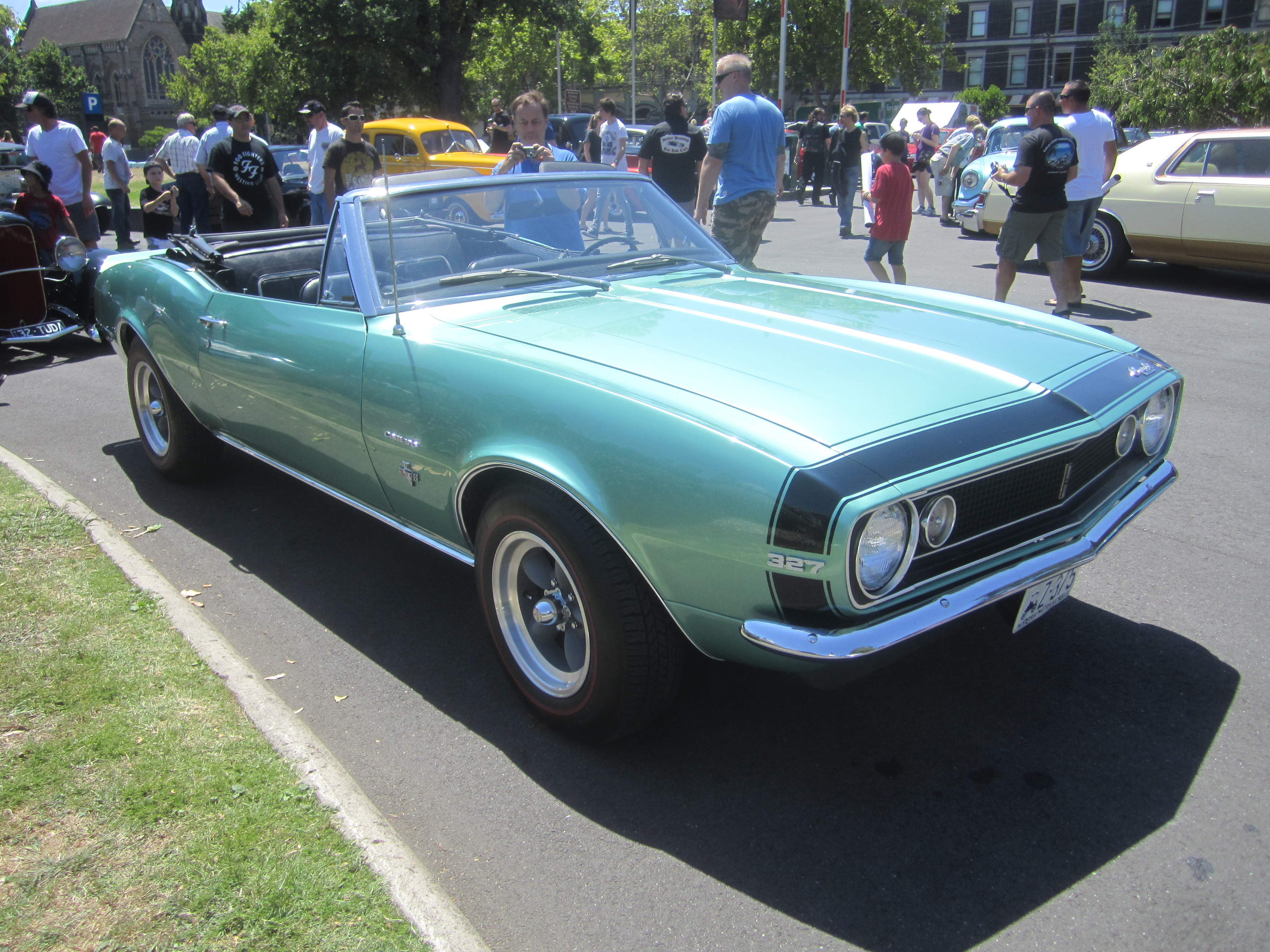 File:1967_chevrolet_camaro_convertibleon 1967 Camaro Ss 396