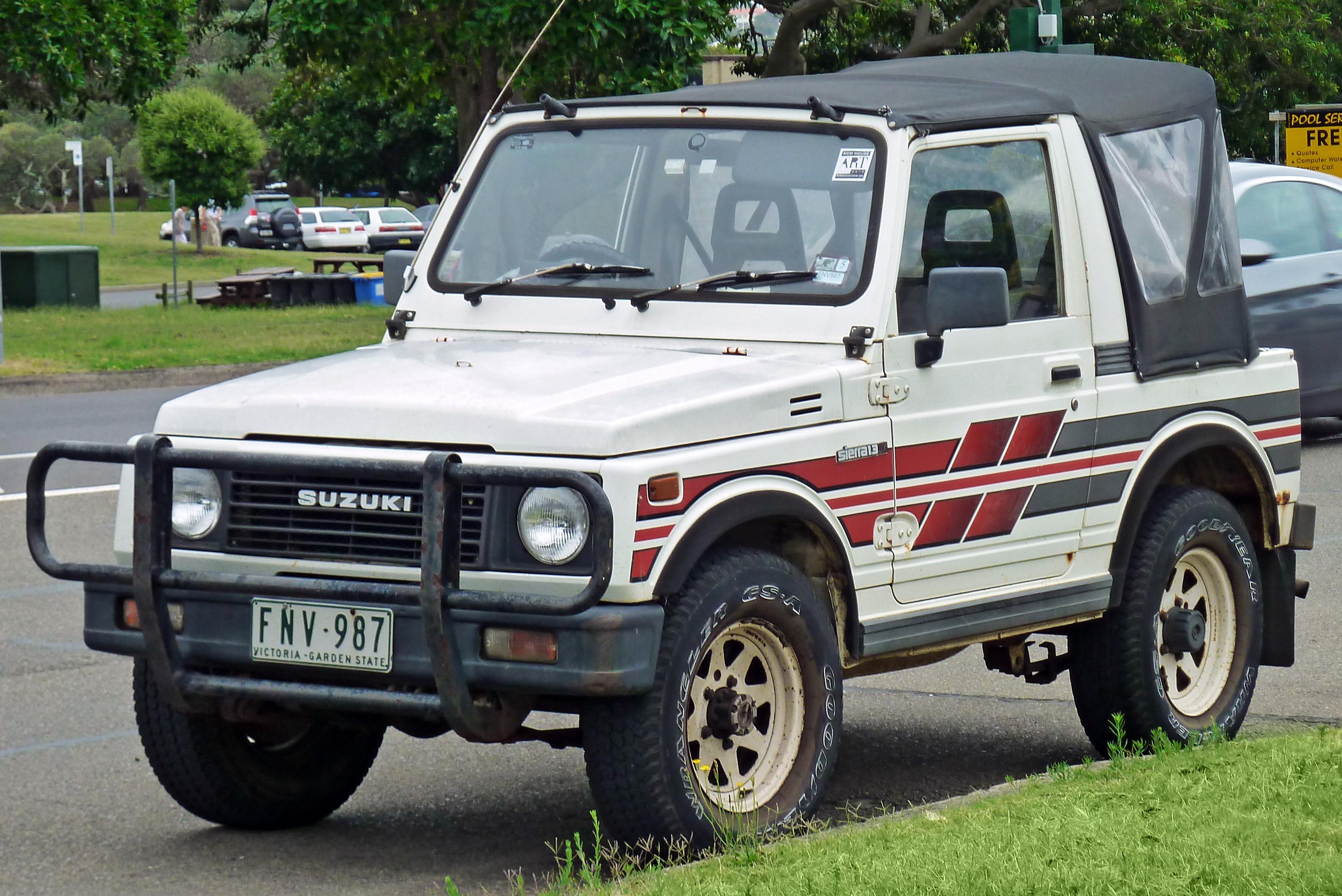 Soft Top For Suzuki Sierra