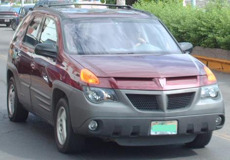 Fuglymobile 2001 Pontiac Aztek