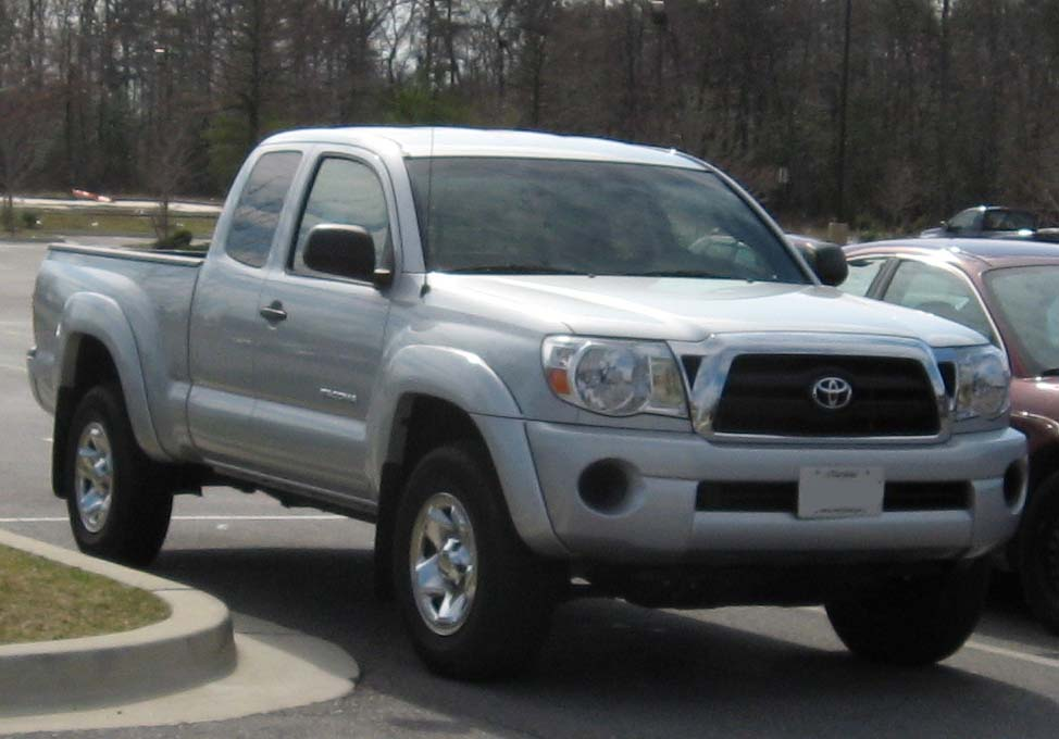 File:2005-2007 Toyota Tacoma.jpg - Wikimedia Commons