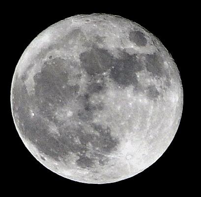 Super Full Moon atau Bulan Purnama Super