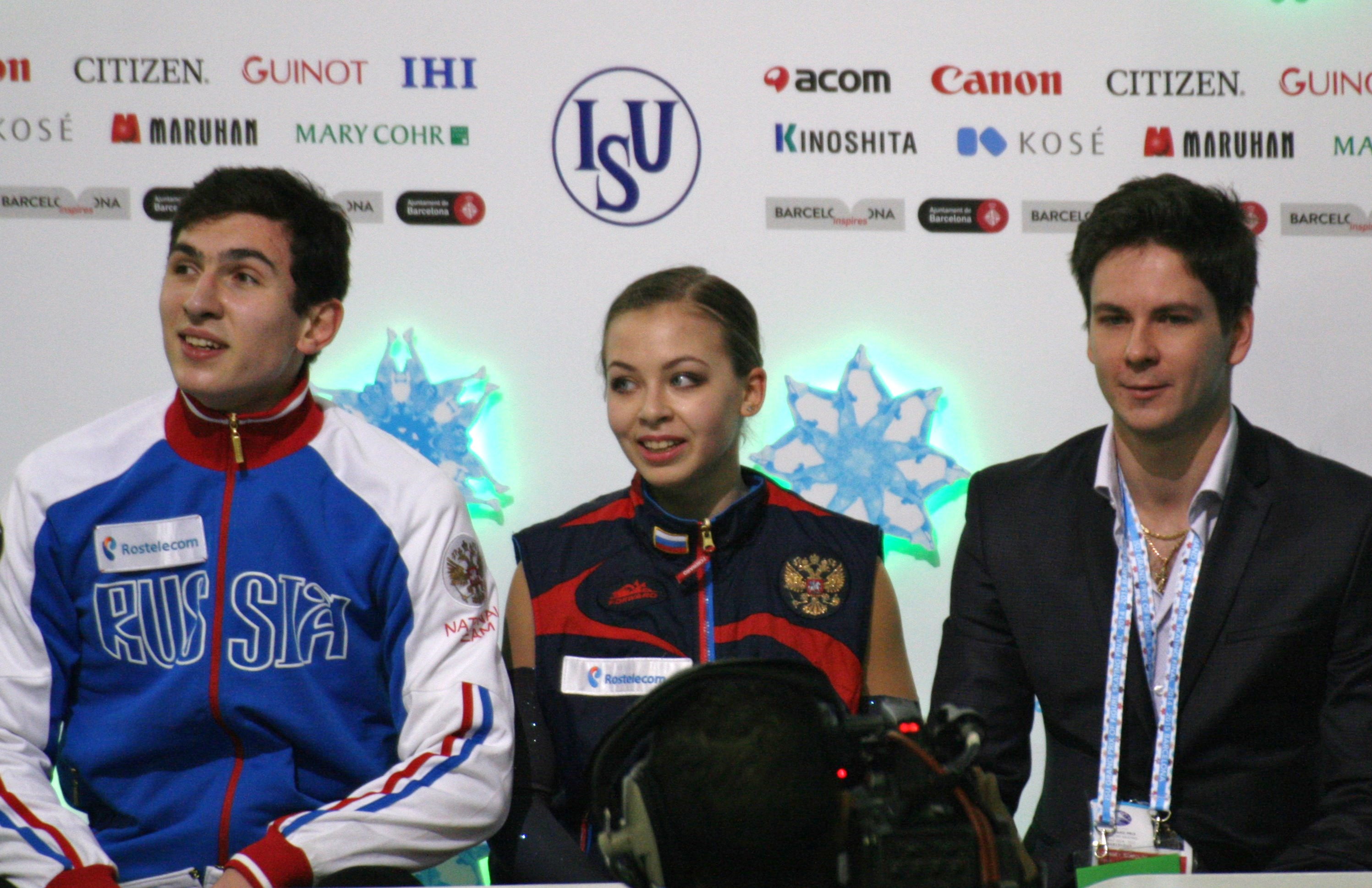 Figure skater Catherine Bobrov was not allowed in the United States because of doping 07.03.2016 69