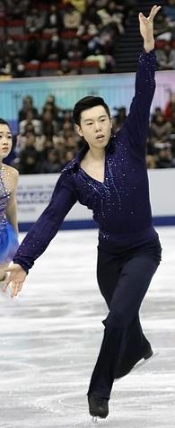 2017-2018 ISU Junior Grand Prix Final Gao Yumeng Xie Zhong jsfb dave4763 (cropped) - Xie Zhong.jpg