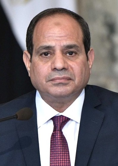 Photo de Abdel Fattah el-Sisi avec un hauteur de 172 cm et à l'age de 64 en 2019