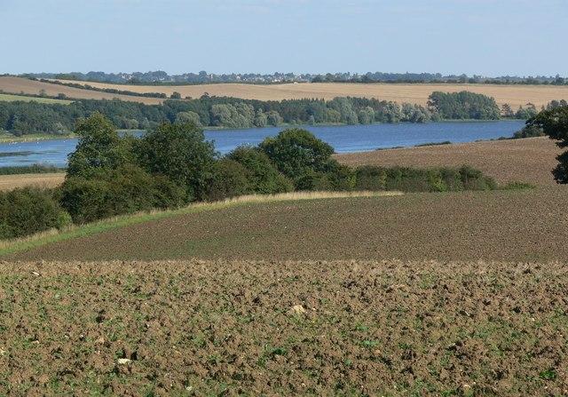 A view towards Eyebrook Reservoir - geograph.org.uk - 538031
