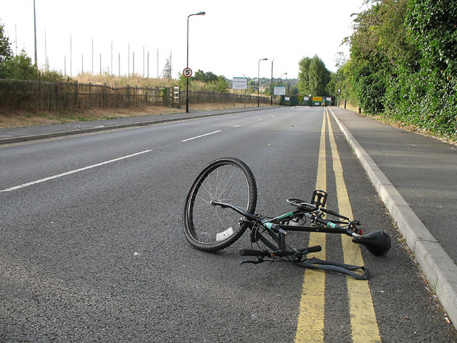 unusual bike accidents