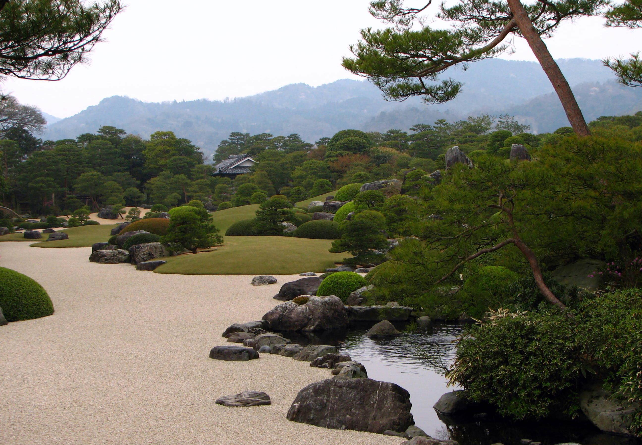 Adachi Museum of Art Garden 01