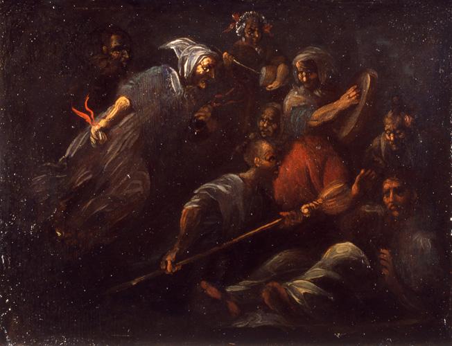File:Alenza-Coven.jpg Description Español: La obra representa un aquelarre de brujas.