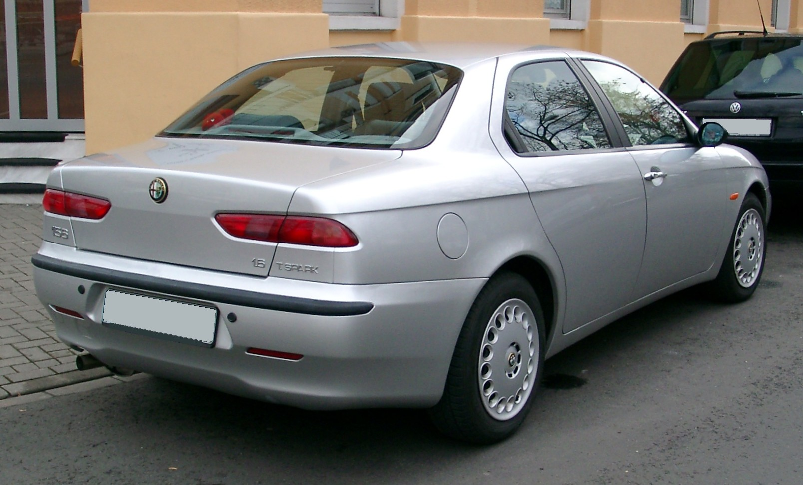 file alfa romeo 156 rear wikimedia commons. Black Bedroom Furniture Sets. Home Design Ideas