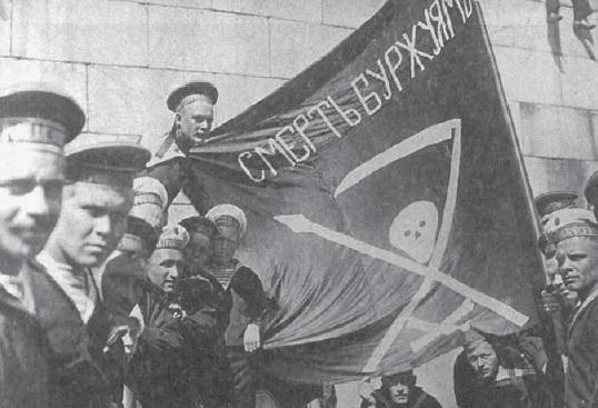 russias involvement in world war i and the communist revolution