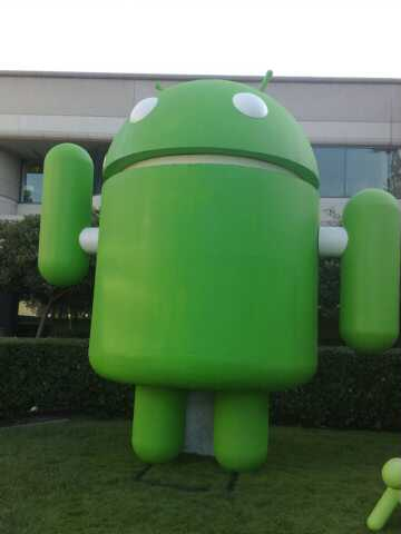 Android at the Googleplex