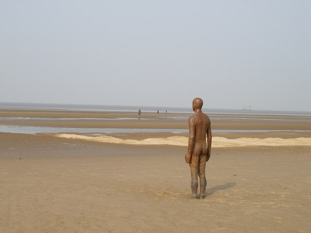 Antony Gormley's 'Another Place' - geograph.org.uk - 407953