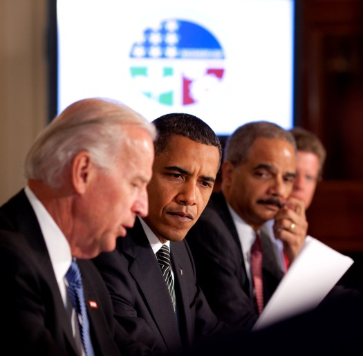 Barack Obama and Cabinet in Roadmap to Recovery meeting 2009-06-08 2