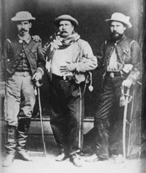 El general Manuel Lisandro Barillas y sus familiares.  Imagen de Wikimedia Commons