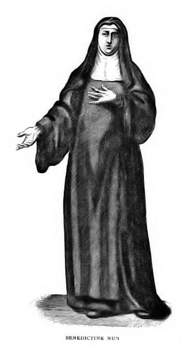 Benedictine nun