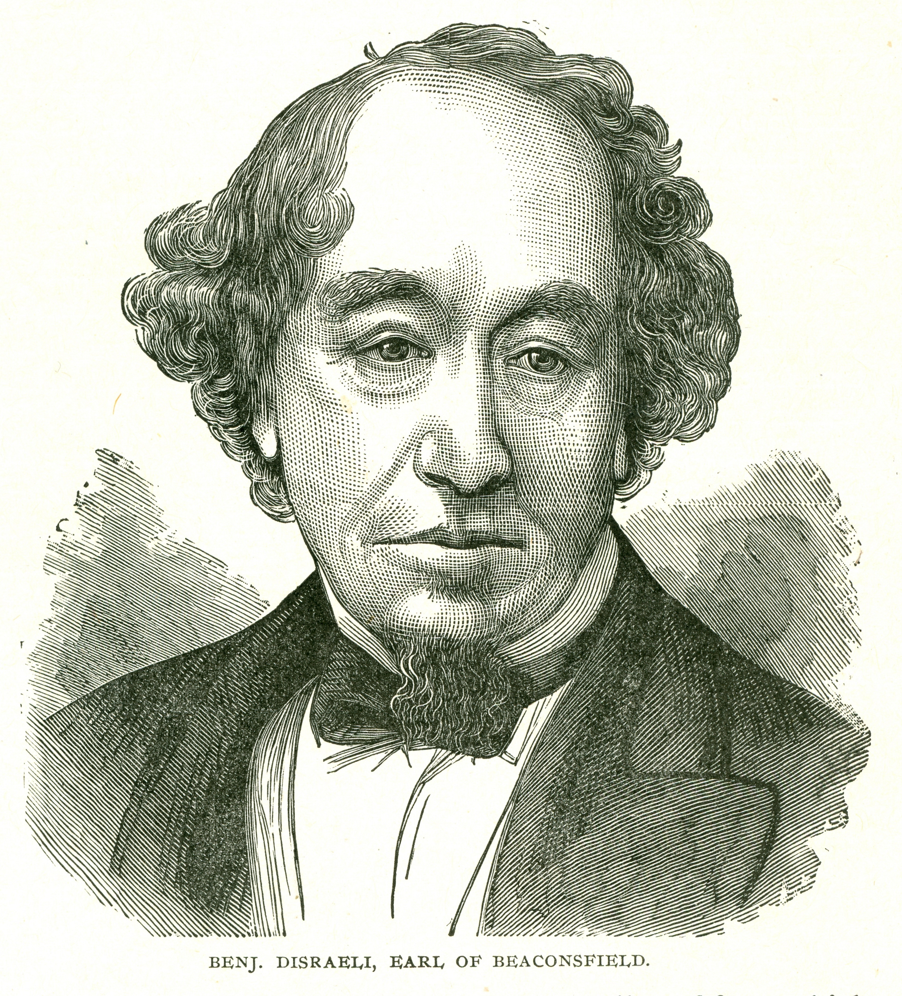 Poet Benjamin Disraeli