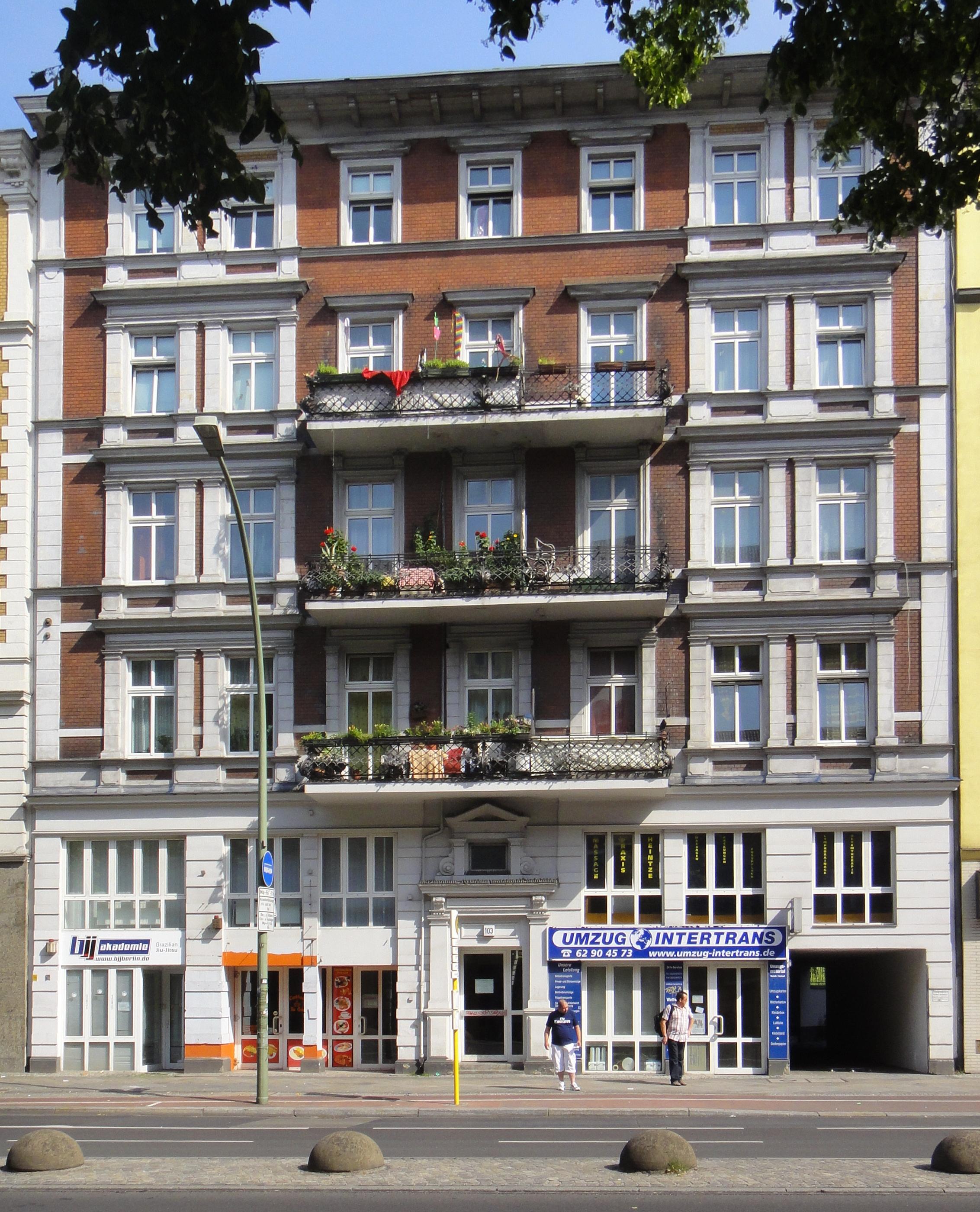 file berlin schoeneberg hauptstrasse. Black Bedroom Furniture Sets. Home Design Ideas