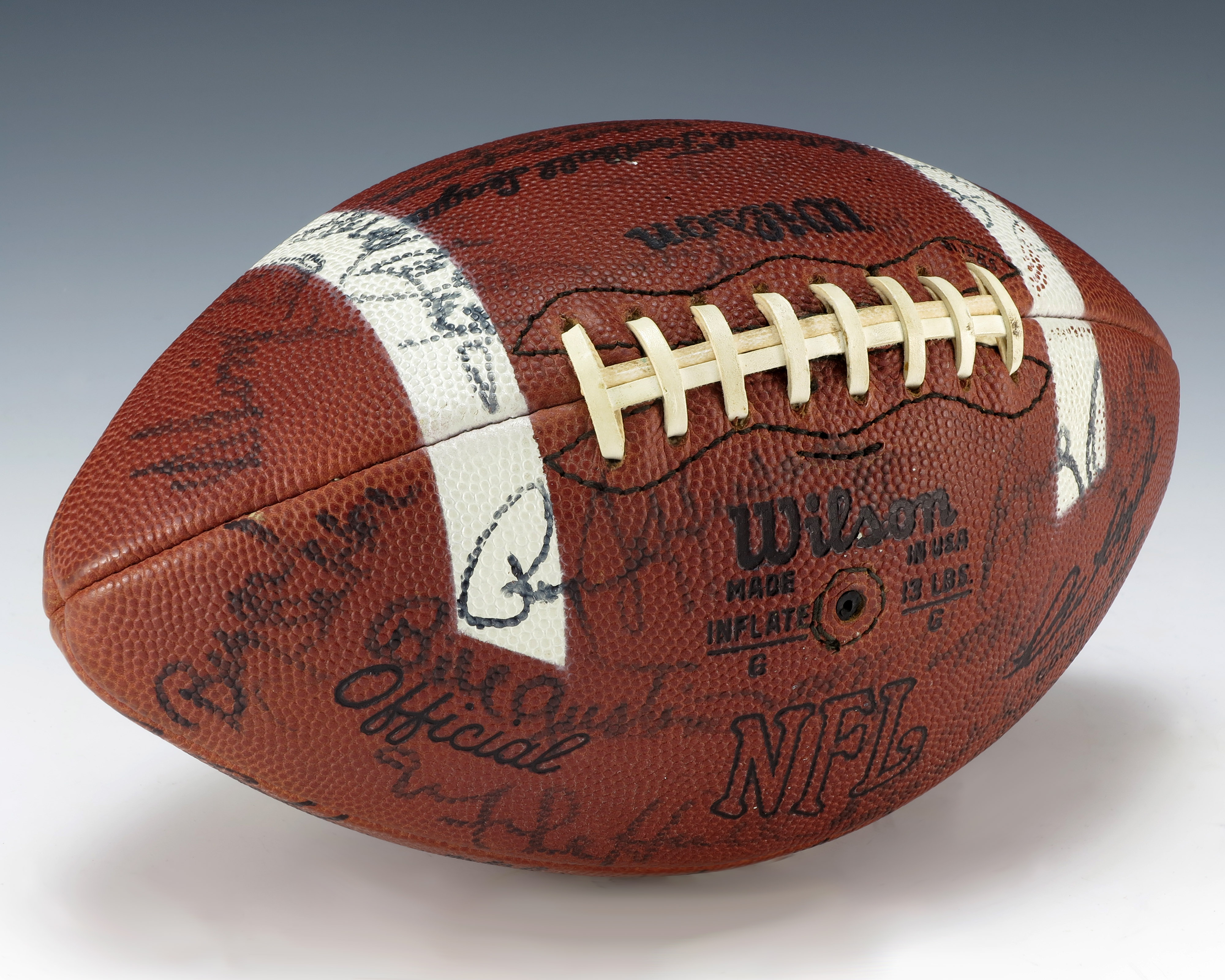 File Betty Ford S Quot Monday Night Football Quot Game Ball 1975
