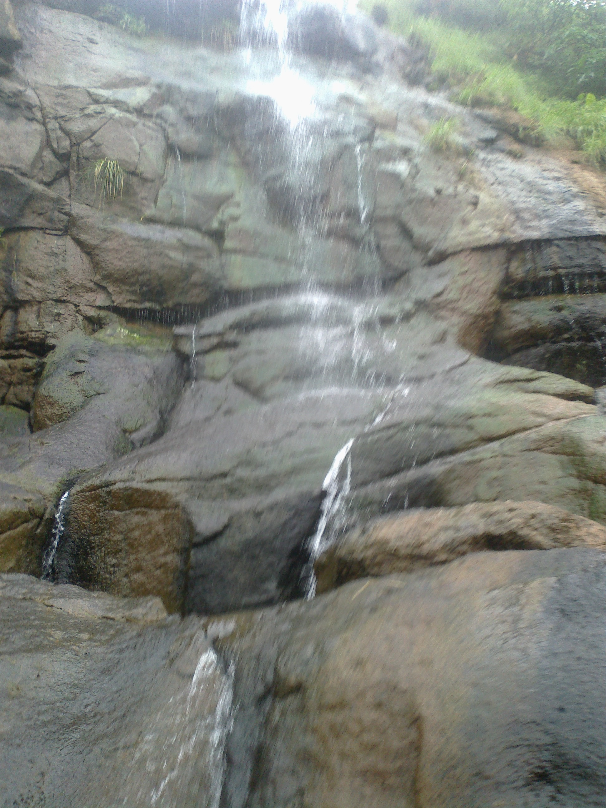 Waterfalls at Bhaja Caves