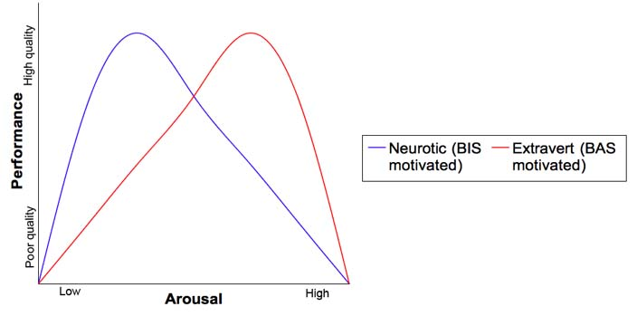 relationship between arousal and performance in sport