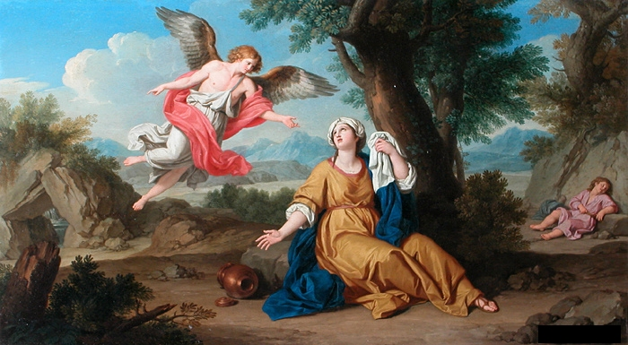 File:Bottani, Giuseppe - Agar et l'ange - c. 1776.JPG