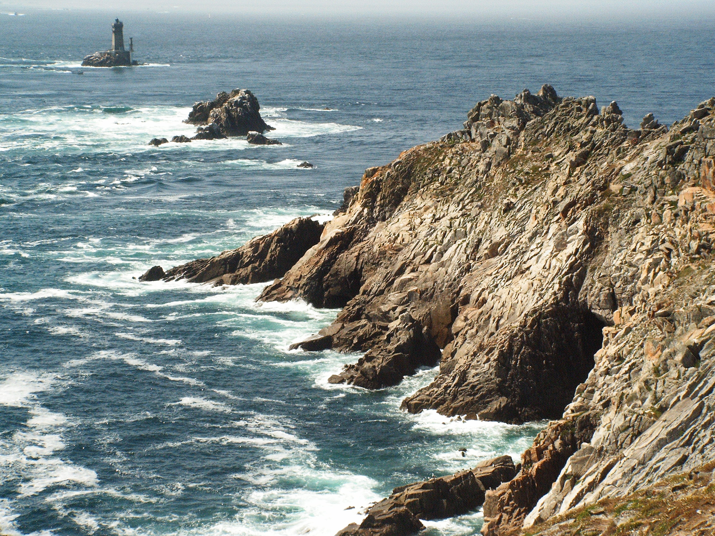 The Pointe du Raz, one of the westernmost extents of both Brittany and France.