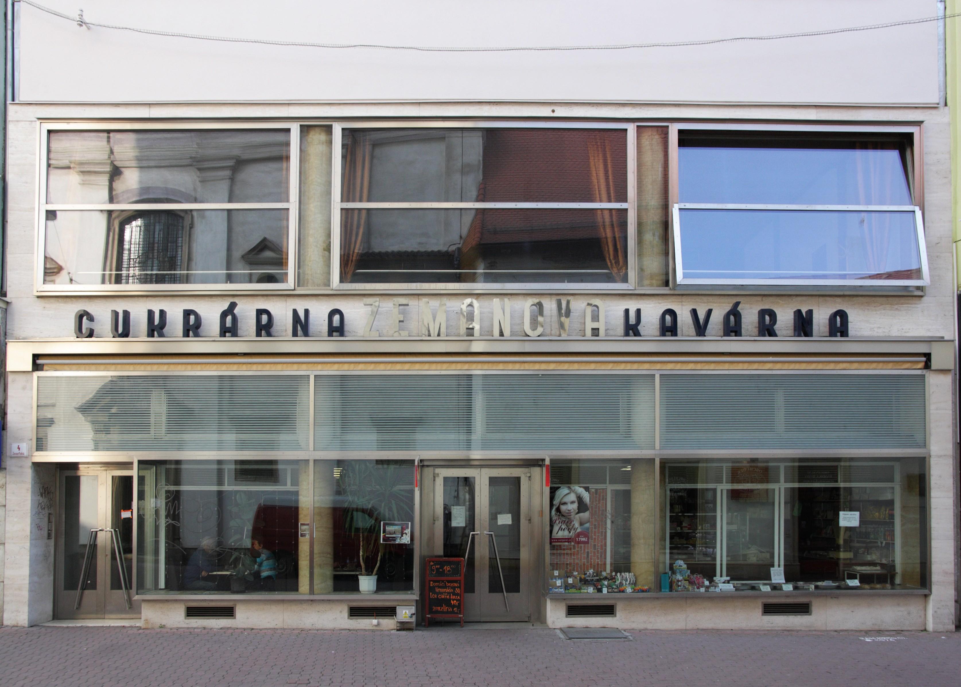 Zemanova Kavarna A Cukrarna Wikipedie