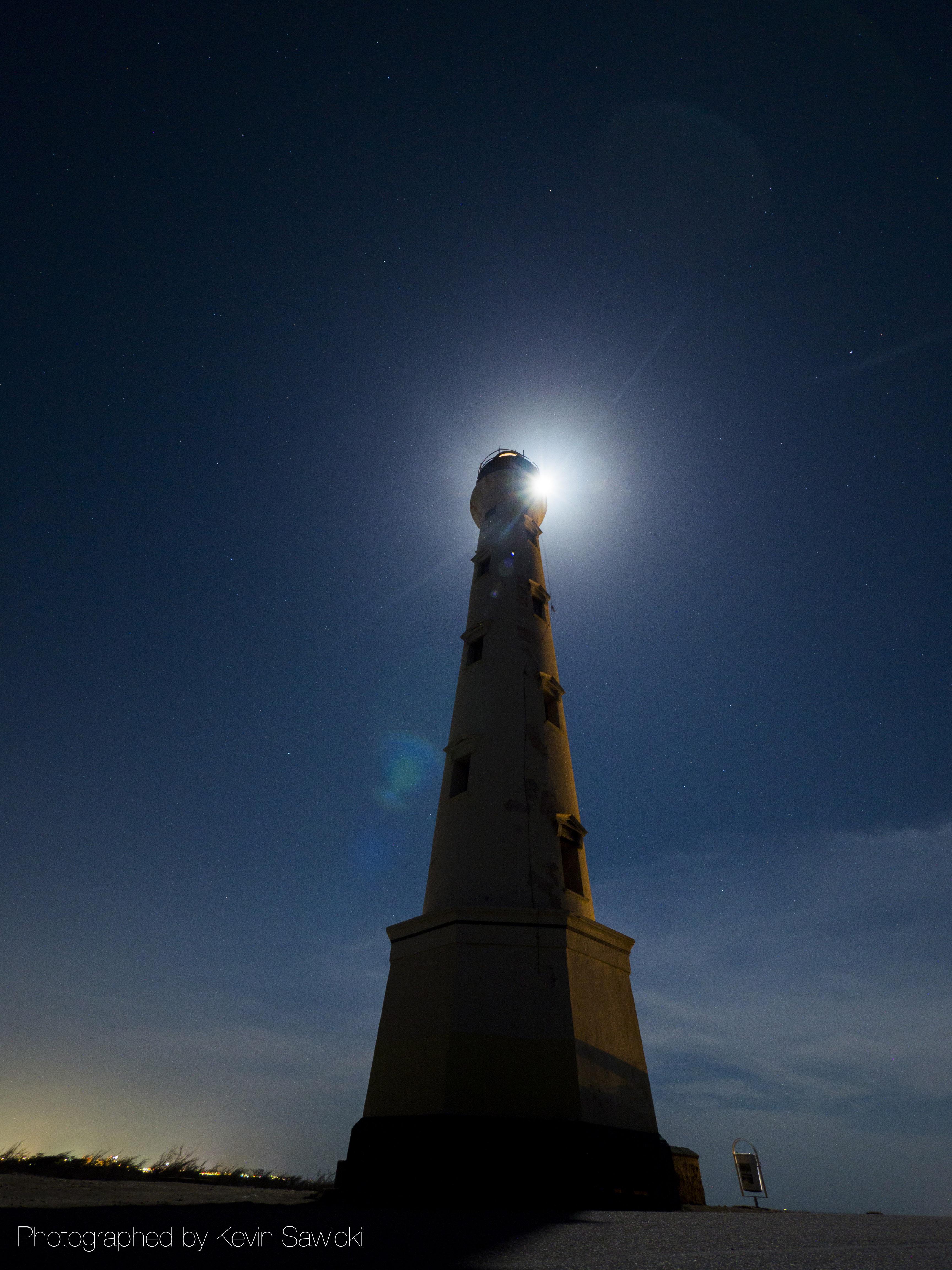 File California Lighthouse At Night Jpg Wikimedia Commons
