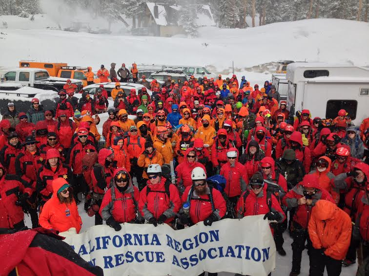 California Regional Mountain Rescue Association 2016 Re-accreditation Test