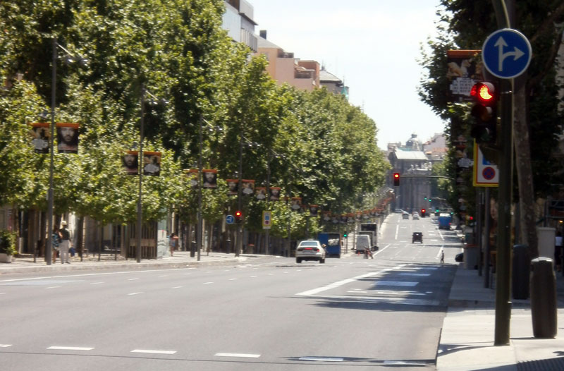 Calle de serrano madrid wikipedia la enciclopedia libre - Calle serrano 55 madrid ...