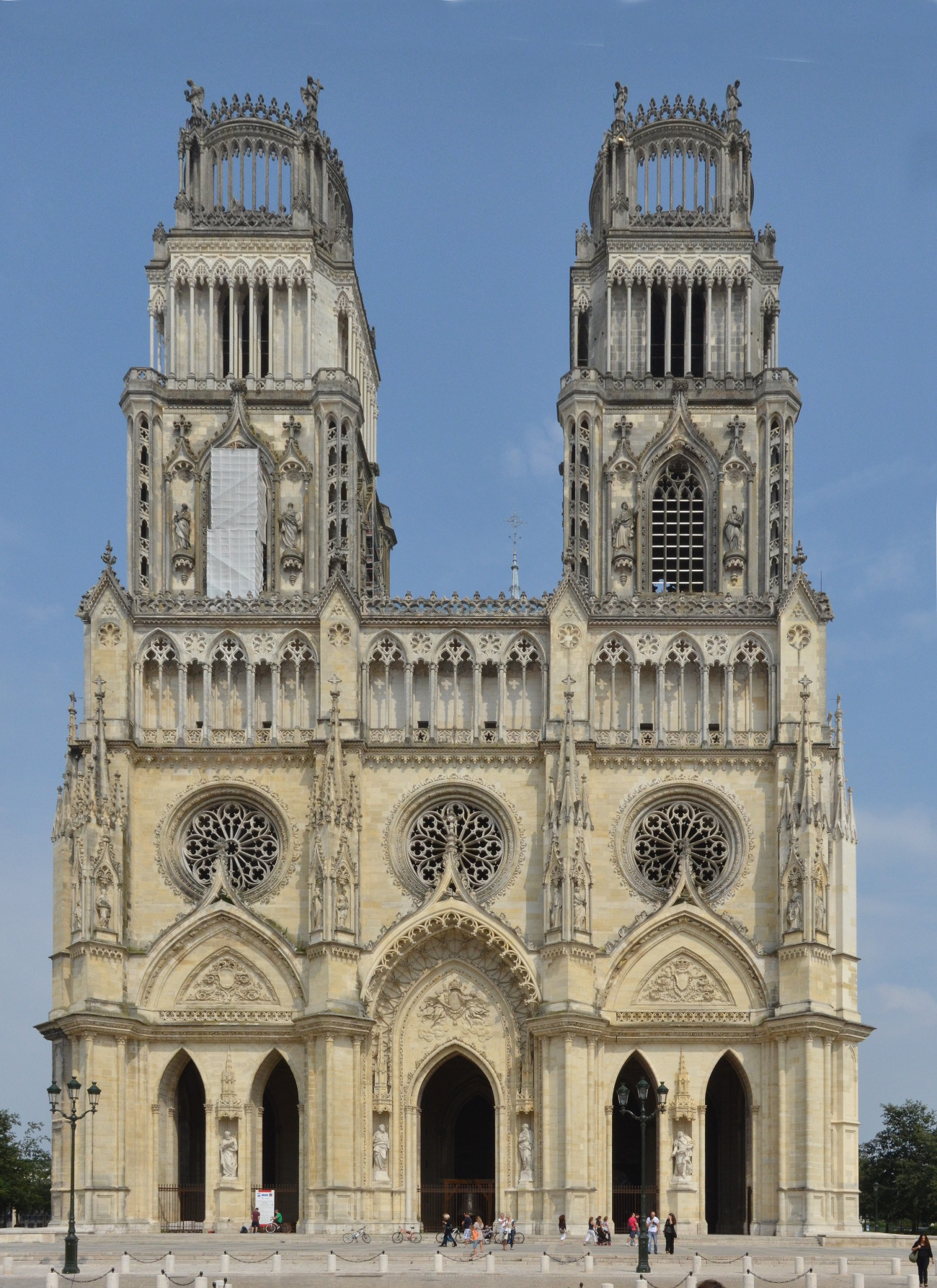 File cathedrale d 39 wikimedia commons for Loiret orleans