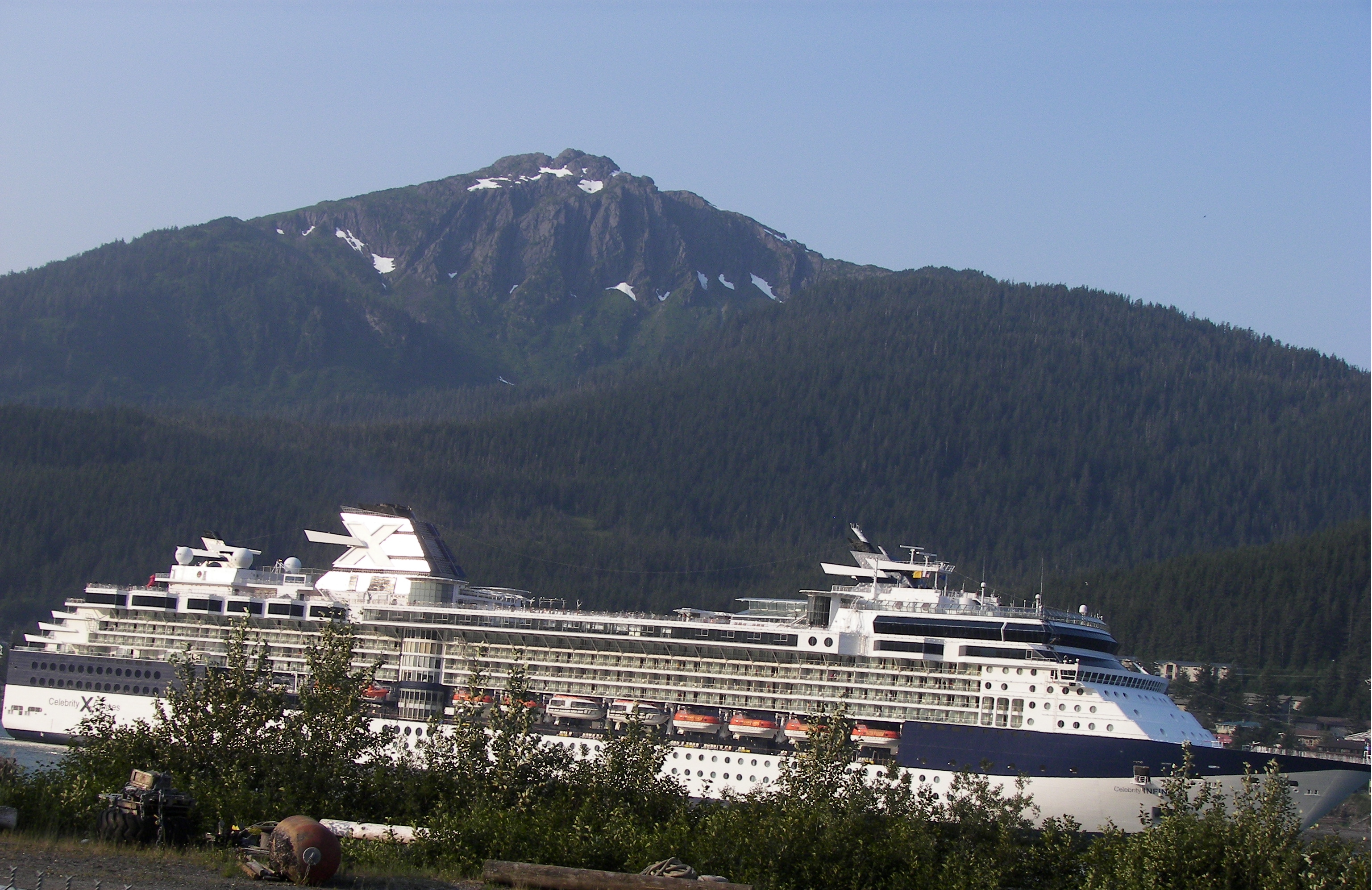 Vancouver to Alaska cruise on Celebrity Infinity - YouTube