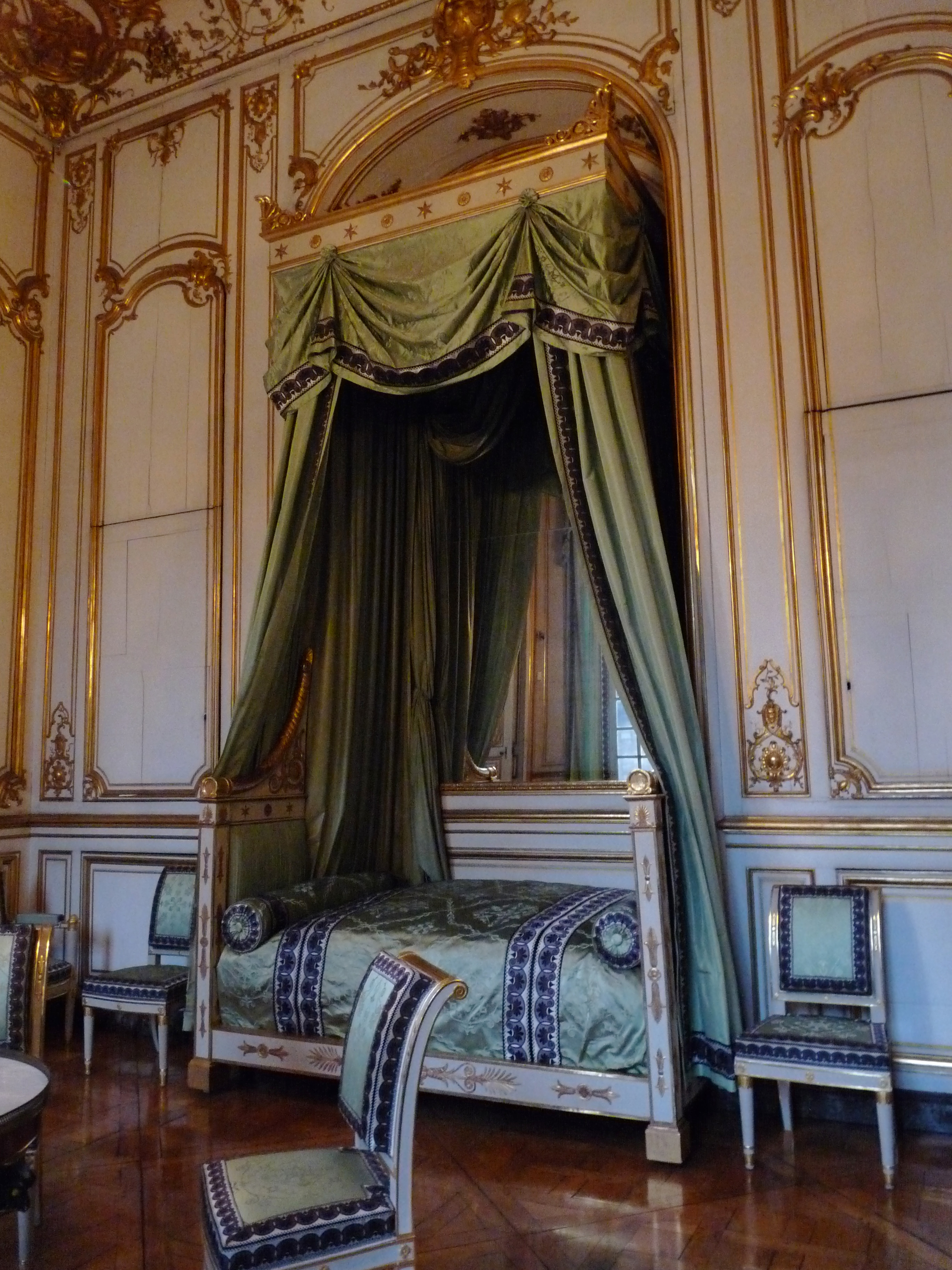 File Chambre  coucher de Napoléon Ier Palais Rohan Strasbourg 2
