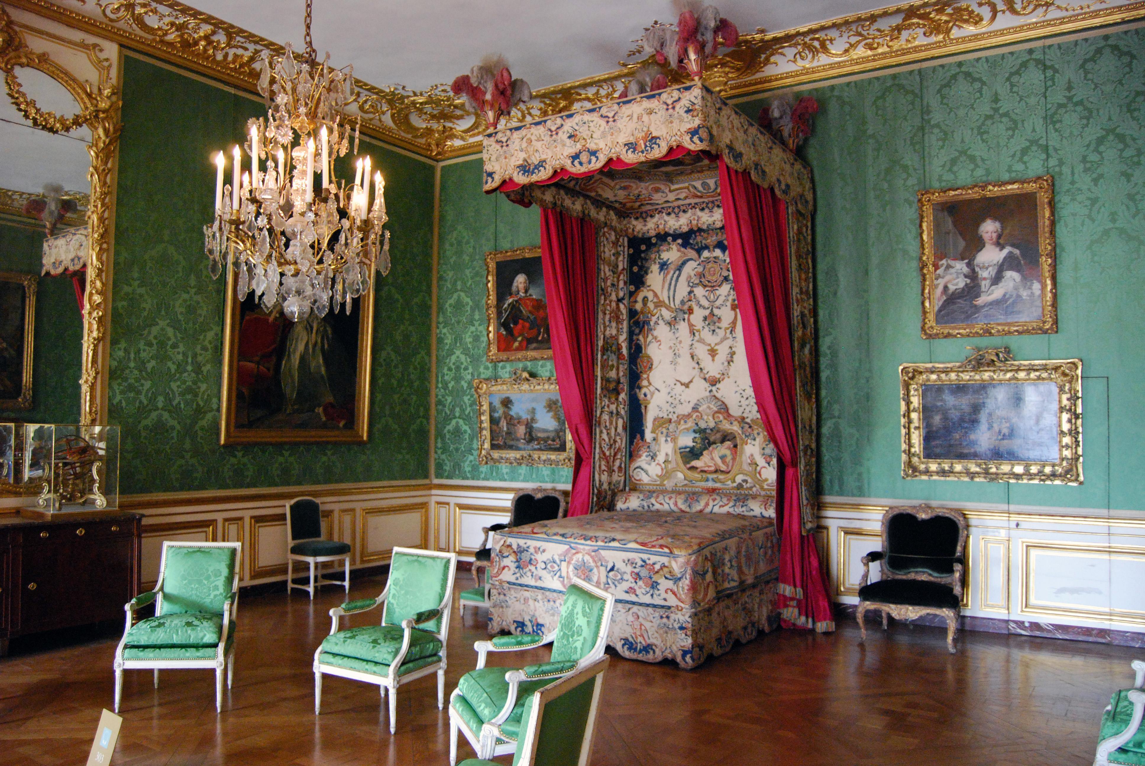 File chambre du dauphin ch teau de versailles - Chambre toile de jouy ...