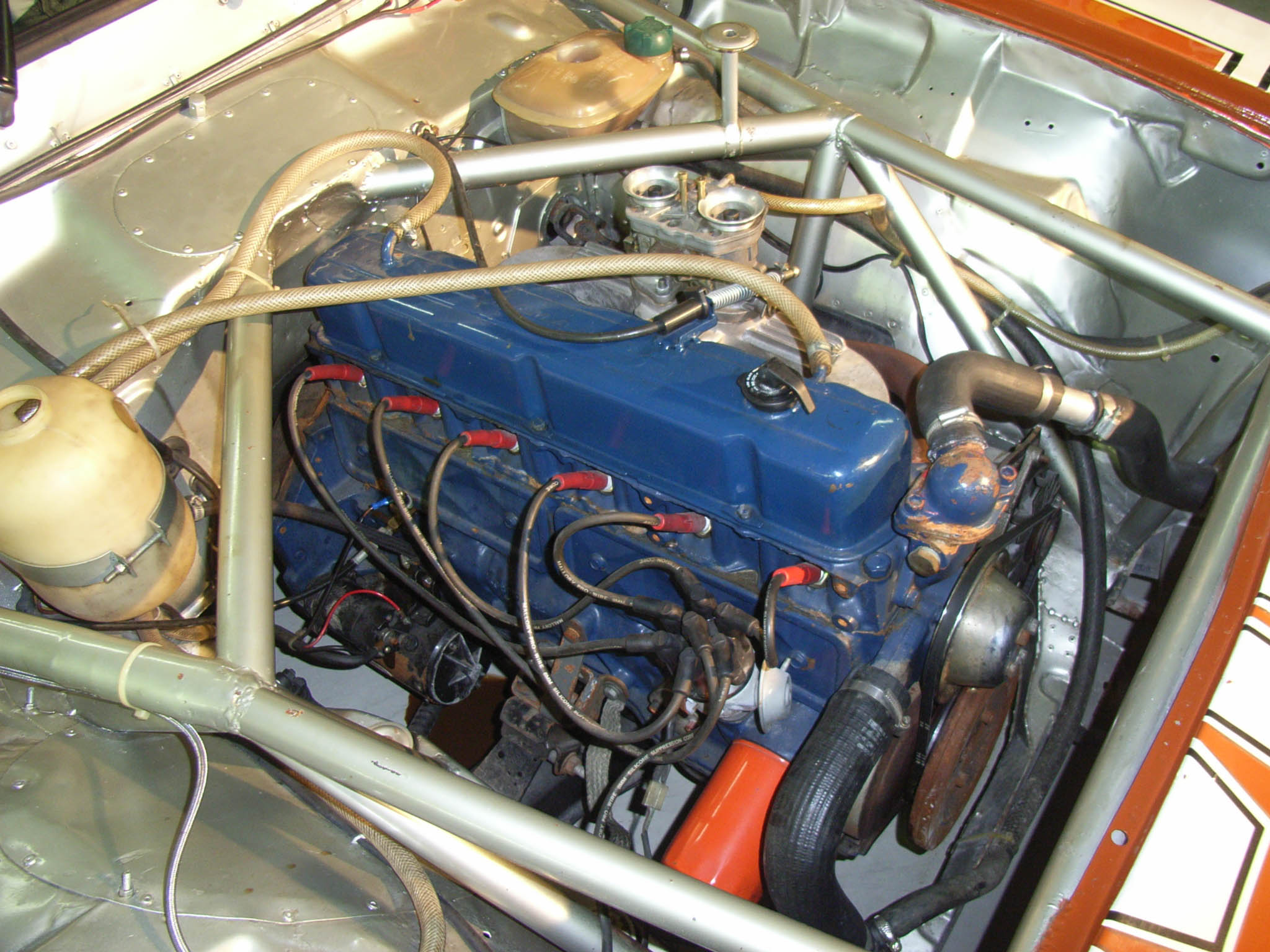 Description Chevrolet Opala 250 S Engine