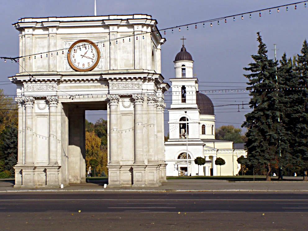 Image result for Arcului de Triumf chisinau