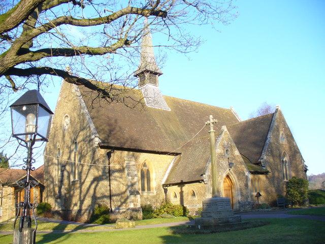 Christ Church, Shamley Green - geograph.org.uk - 1096720