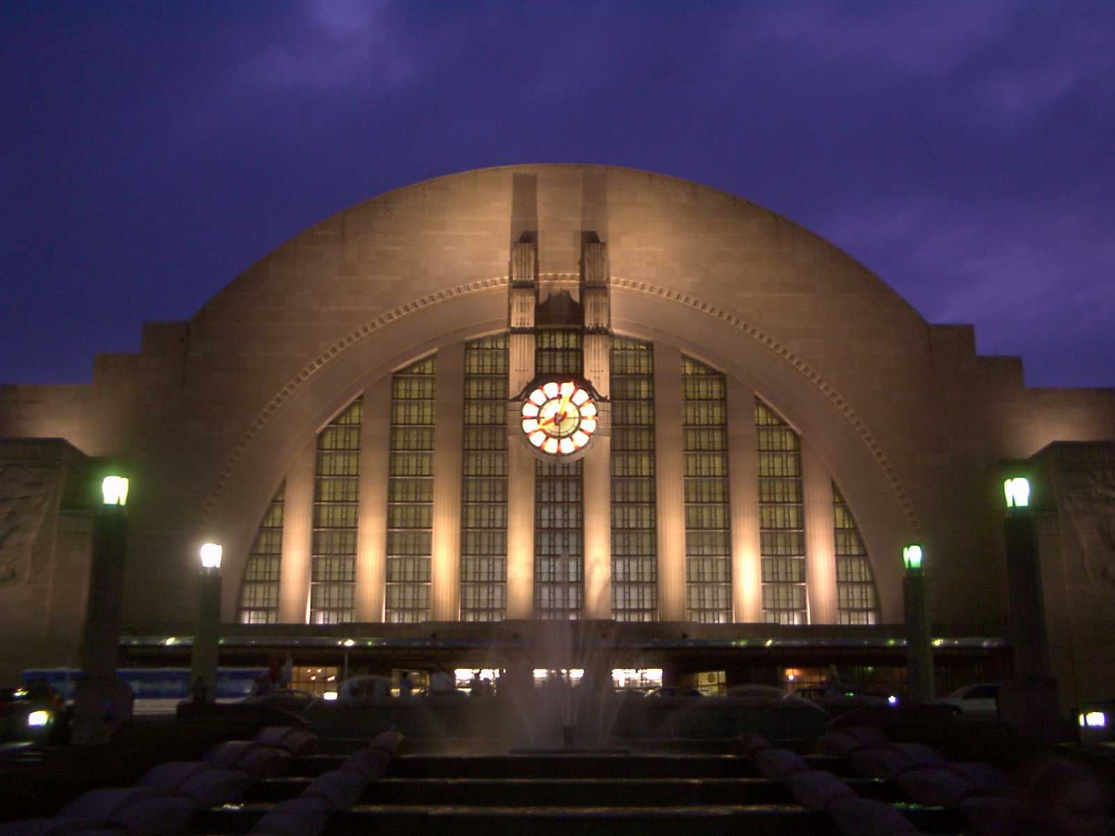 Julie flanders writer u is for union terminal Museums in cincinnati ohio