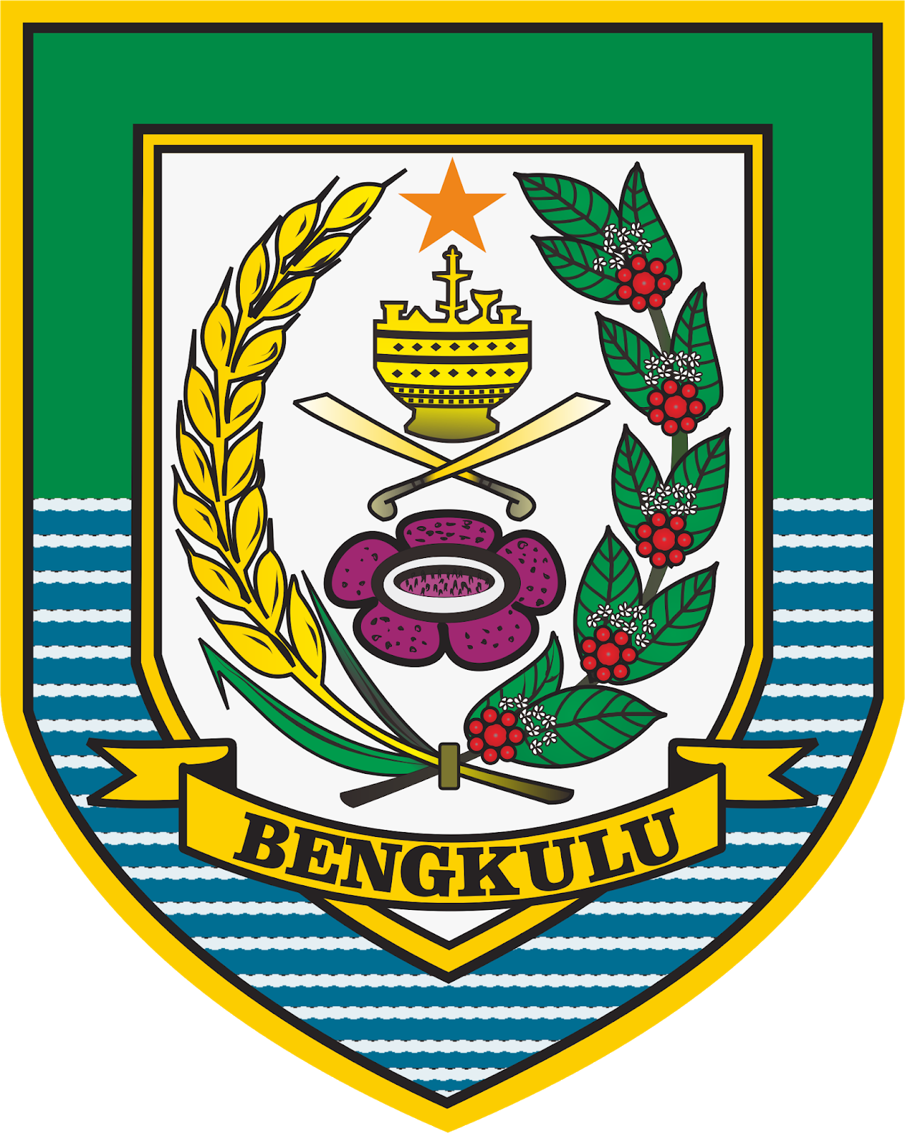 File Coat Of Arms Of Bengkulu Png Wikimedia Commons
