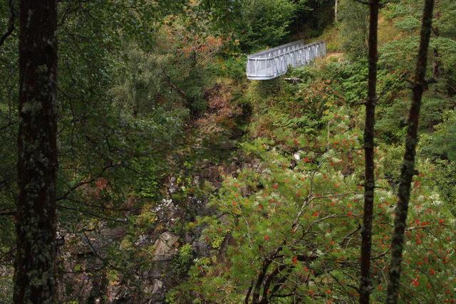 Corrieshalloch gorge viewing platform. - geograph.org.uk - 1623171