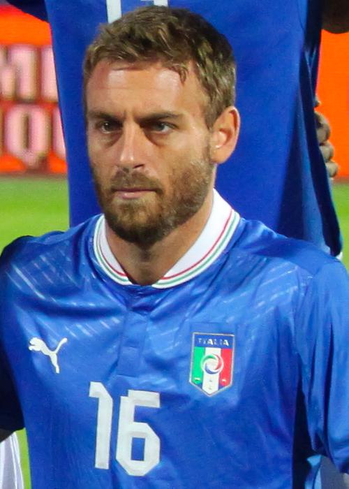 Nella foto: Daniele De Rossi con la maglia della Nazionale