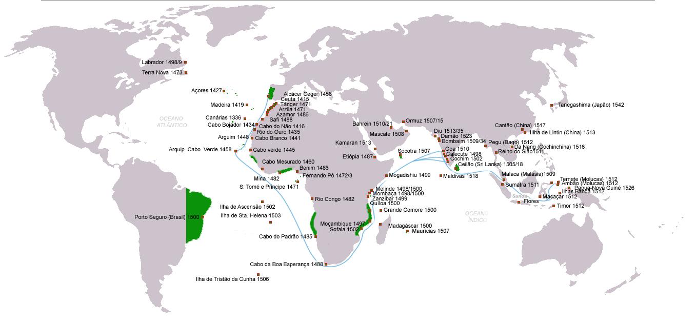 Descobrimentos e Possessões Portuguesas