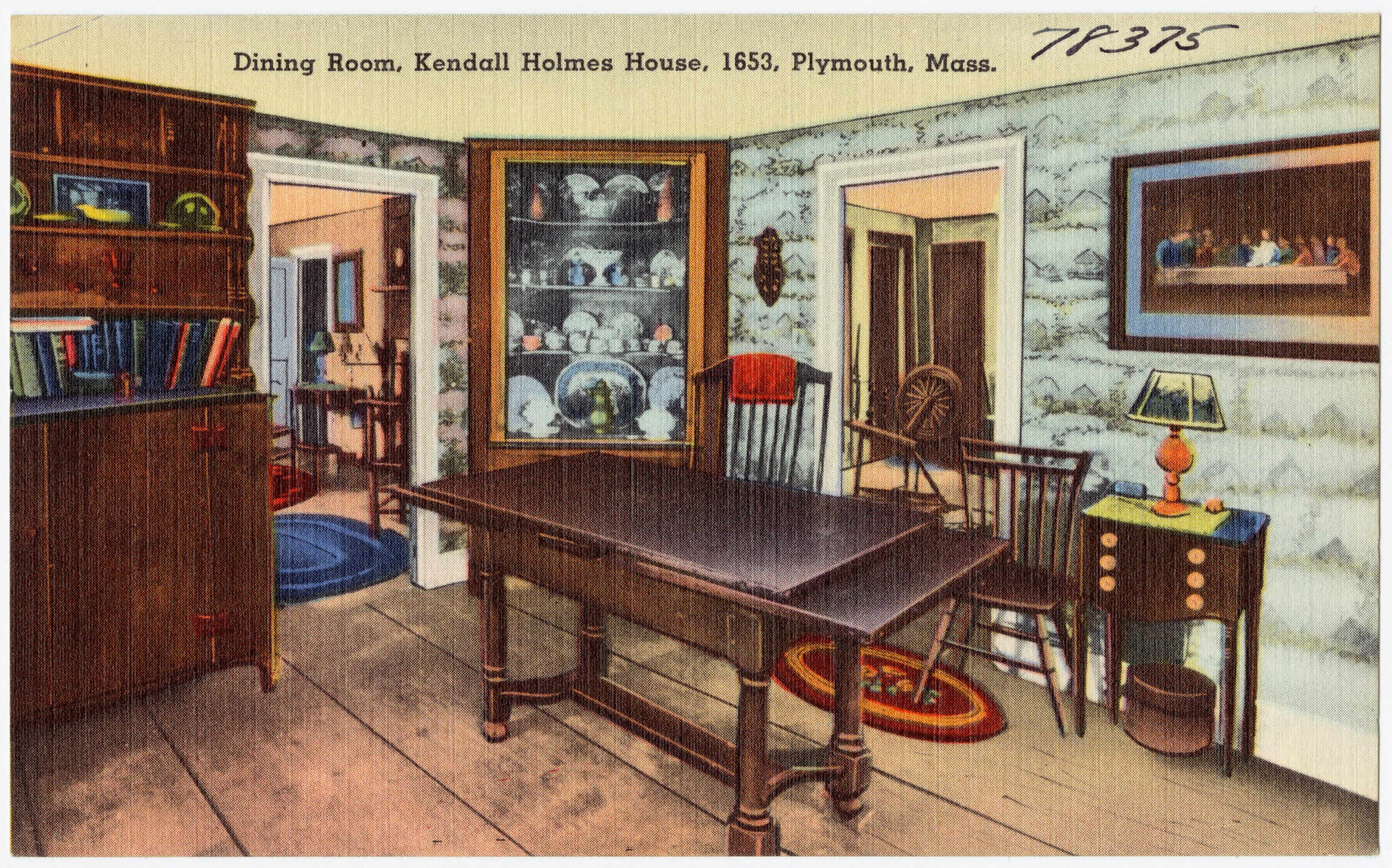 FileDining Room Kendall Holmes House 1653 Plymouth Mass 78375