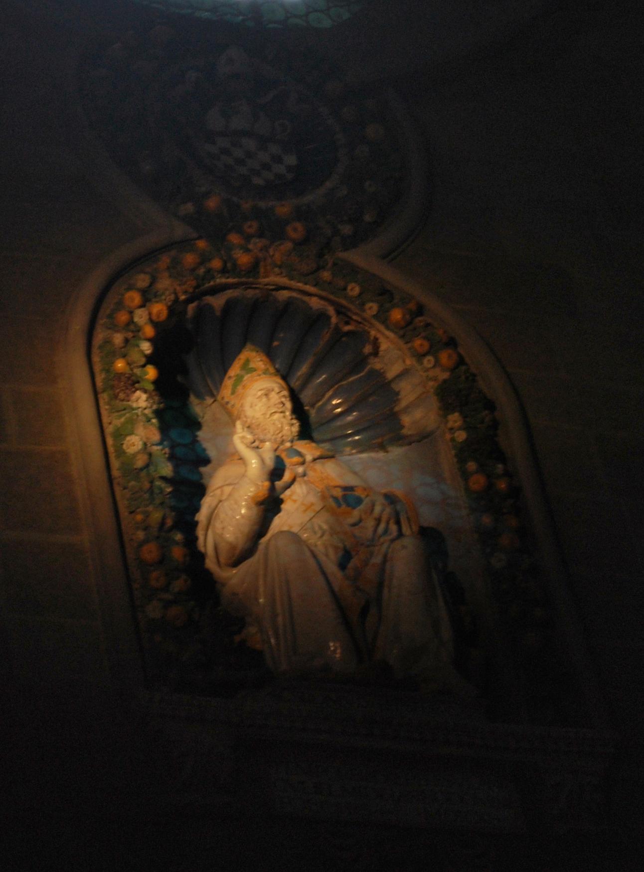 Den hellige Romulus i katedralen i Fiesole