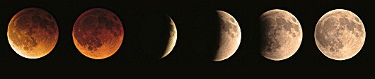Eclipse lune