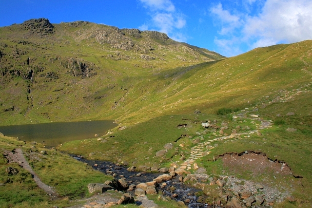 Esk Pike from Angle Tarn - geograph.org.uk - 917507