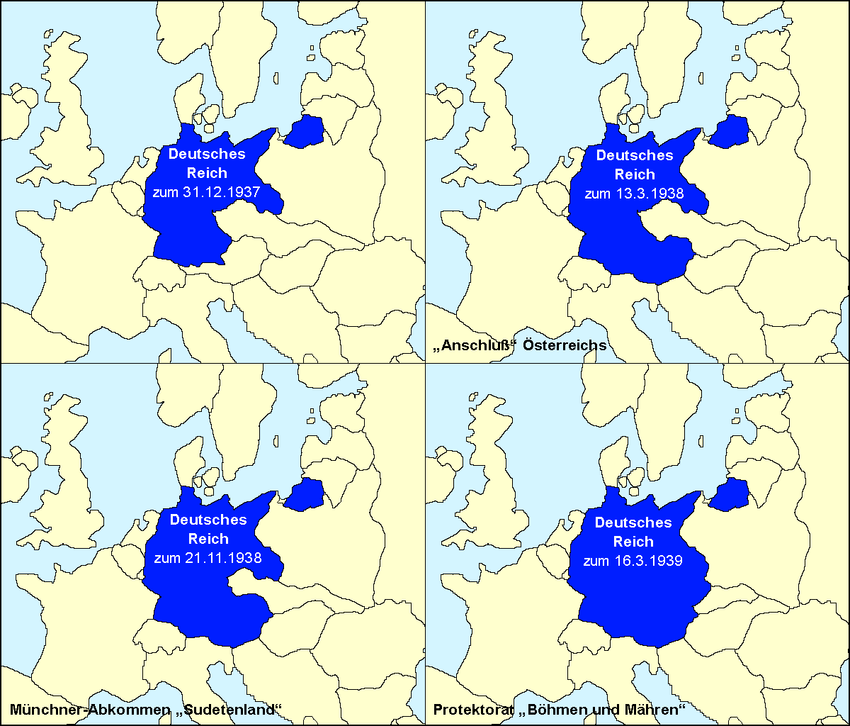 Deutschlandkarte Von 42 - Deutschland 1939 Karte